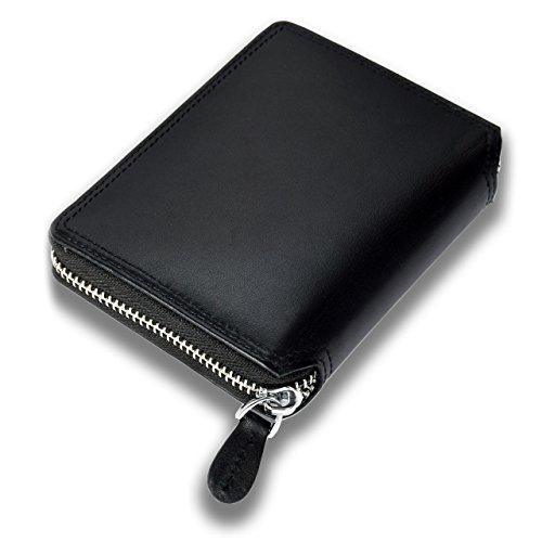 095c684a87 Lackingone Portafoglio Uomo Classico di Grande Capacità con 18 Tasche in  Vera Pelle di Qualità con Cerniera Lampo e Protezione RFID/NFC Minimalista  trova ...