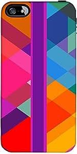 Snoogg Stripe Over Rhombuses 2795 Designer Protective Back Case Cover Forfora...