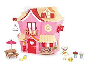 MGA Mini Lalaloopsy Sew Sweet House Playhouse with Exclusive Character
