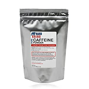 500G 1.1 Lbs. Caffeine Powder 100% USP Pharma Grade Pure Powder Foil Sealed for freshness. Ultra Pure Powder.