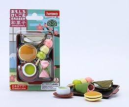 Japanese Sweet Carded Eraser Set 6 Piece BCM 38337