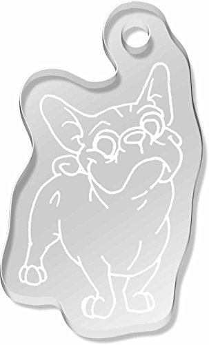 french-bulldog-shaped-frost-engraved-keyring-ak00010911