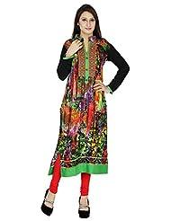 Agroha Women's Rayon Long Sleeve Kurti - B016Y0634Q