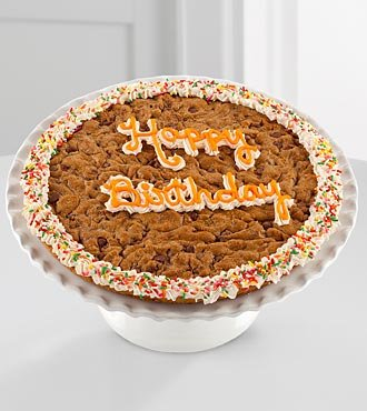 FTD Flowers Fields Birthday Cookie Cake