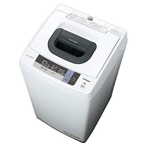 日立 全自動洗濯機 「白い約束」(洗濯5.0kg) NW-5WR-W ピュアホワイト
