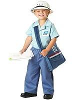 USPS Licensed Mr. Postman Toddler Halloween Costume Size 2-4