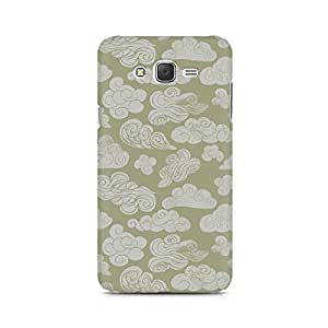 Mobicture Cloudy Sky Premium Printed Case For Samsung J1