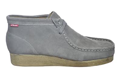 Clarks Padmore Men's Ankle Boots Grey Suede Grey 30259-14