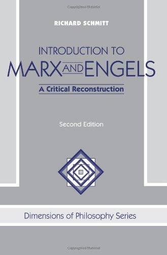 Introduction To Marx And Engels: A Critical...