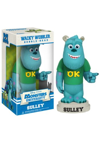 Funko Disney Monsters University: Sulley Wacky Wobbler - 1