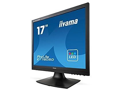 "iiyama E1780SD-B1 Ecran PC LED 17"" (42,50 cm) 1280 x 1024 5 ms VGA/DVI-D"