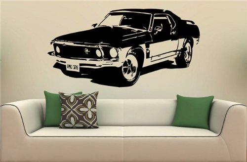 Ford Mustang Shelby Gt Cobra Car Bumper Sticker Decal Set of 2 3.5