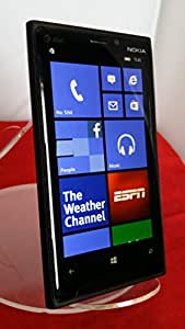 Nokia Lumia 920 RM-820 32GB AT&T Locked 4G LTE Windows 8 OS Smartphone - Black no warranty