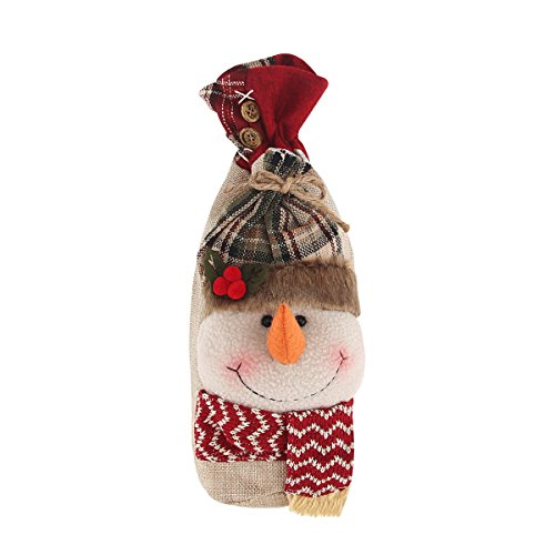 cyber-monday-deal-3d-cute-christmas-snowman-gift-candy-bag-with-cord-drawstring-holiday-festive-chri