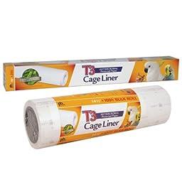 Cage Liner Paper Rolls 100 x 18\