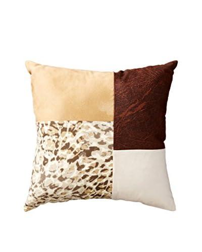 Safari Pillow, Brown/Tan