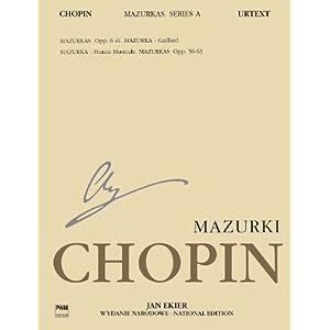 ショパン : マズルカ集/エキエル編(英語版)/ポーランド音楽出版社ピアノ・ソロ