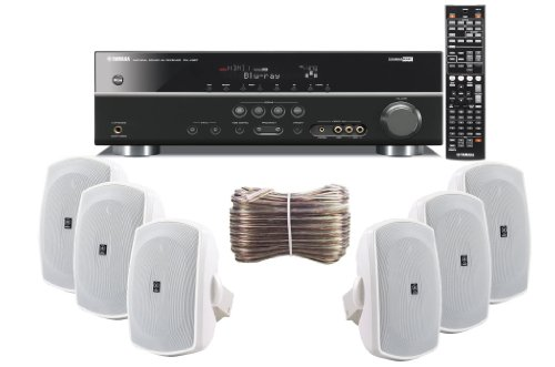 Yamaha 3d ready 5 1 channel 500 watts digital home theater for Yamaha audio customer service