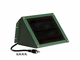 Sweeney Feeders SX6-GR Automatic Bird and Koi Feeder Solar Battery Charger - 6 Volt, Hartford Green