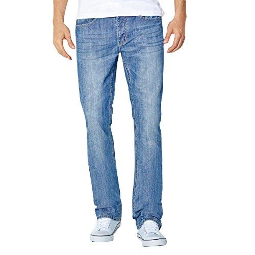R Essentiel Uomo Jeans Bootcut Lung. 34 Taglia 38 Blu