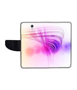 KolorEdge Printed Flip Cover For Lenovo S1 Multicolor - (1478-50KeMLogo10957LenovoS1)