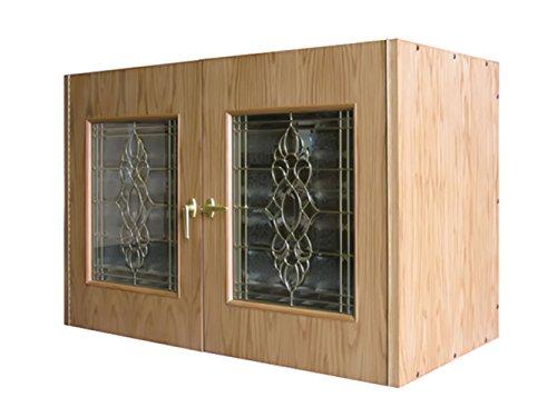 La Cache Wine Credenza : Cabinet modern and fashionable wine credenza with refrigerator