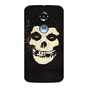Luxirious Vintage Skull Face Back Case Cover for Moto X 2nd Gen