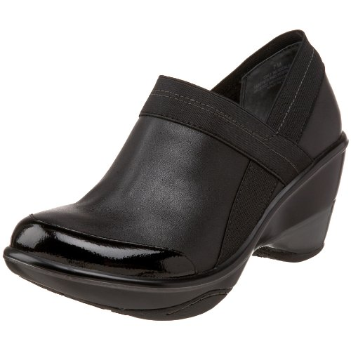 Jambu Women's Cali Wedge Clog,Black,10 M US
