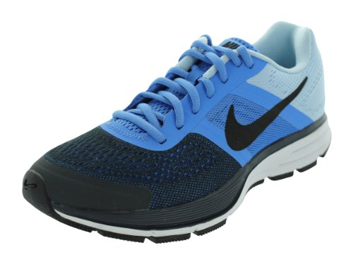 Nike Women s Air Pegasus 30 Dstnc Bl Blk Anthrct Chmbry Bl Running Shoes 5  5 Women US 99eeeb2f0cb