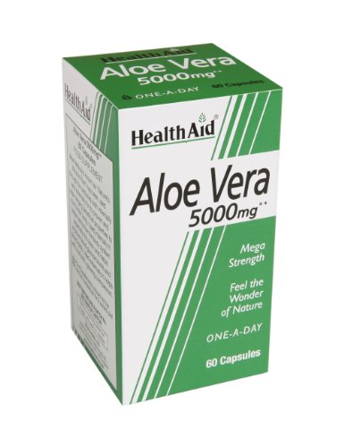 HealthAid Aloe Vera 5000mg - 60 Capsules