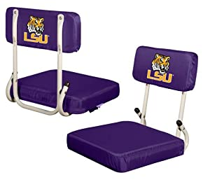 LSU Tigers Hardback Stadium Seat by Logo