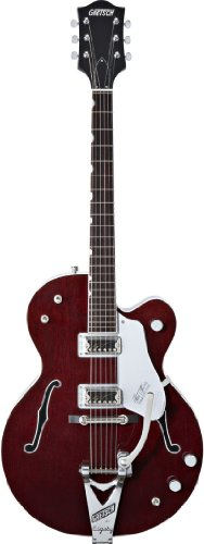 Gretsch G6119-1962Ht Chet Atkins Tennessee Rose Electric Guitar - Burgundy Stain