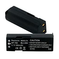 Sanyo XACTI VPCA5 Replacement Digital Battery