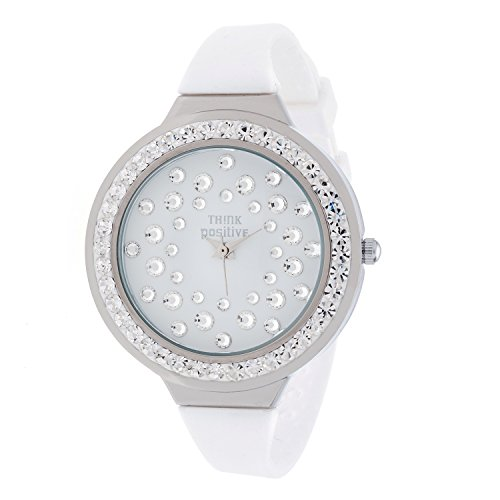 ladies-think-positiver-model-se-w116a-star-dust-tunnel-medium-steel-strap-silicone-color-white