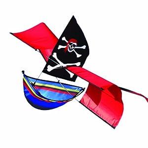 Brookite Piraten-Boots-Drachen - Englische Anweisungen
