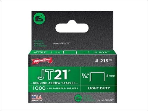 Arrow 215 215 Staples JT21 T27 (1000) 8mm 5/16in