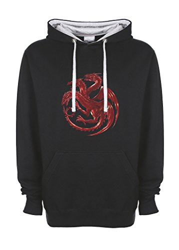 three-dragons-targeryen-world-of-ice-and-fire-red-noir-gris-qualite-superieure-sweat-a-capucha-unise