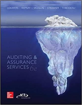 Auditing & Assurance Services written by Timothy J Louwers
