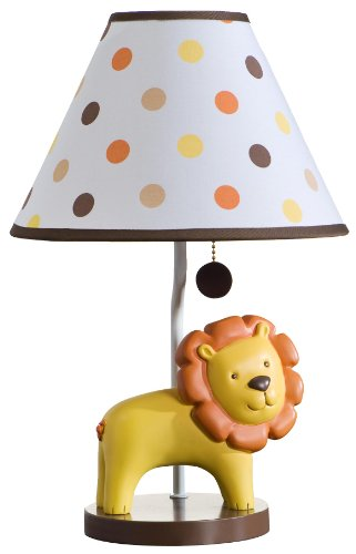 Carter's Lamp Base and Shade, Sunny Safari (Discontinued by Manufacturer)