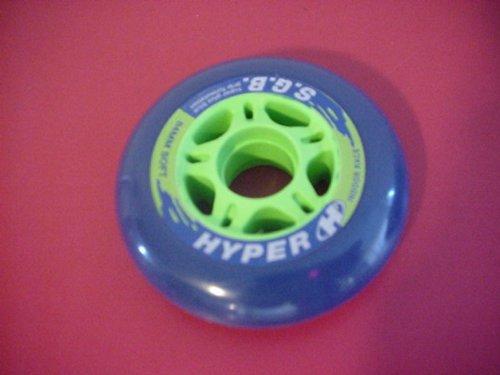Hyper Rollerblade SGB individual Inline skate wheels 84mm 89A