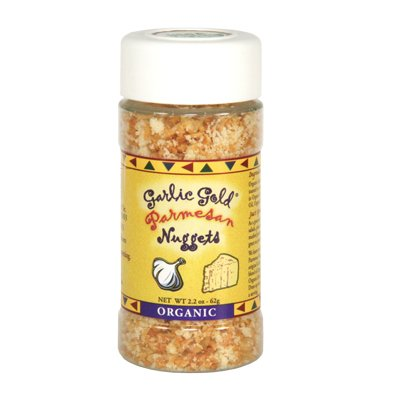 Garlic Gold, Organic Parmesan Nuggets, 2.2 Ounce Jars (Garlic Butter Sauce compare prices)