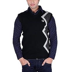Leebonee Acrylic Men's Sleeveless Sweater