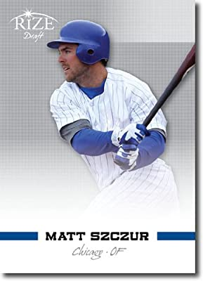 2012 RIZE Draft Prospects Card #87 Matt Szczur - Chicago Cubs (Rookie / Prospect ) MLB Trading Card
