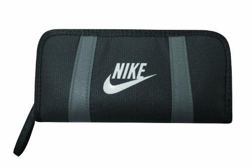 Nike Teen Girl Portafoglio F079Nero/Grigio, uomo, Black - black