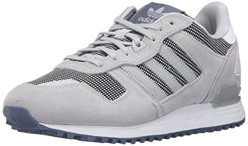 Adidas Originals Women's ZX 700 W Fashion Sneaker, Clear Onix/Light Onix/Tech Ink F16, 8 M US