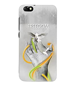 ColourCraft Creative Hand Image Design Back Case Cover for HUAWEI HONOR 4X