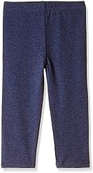 Fox Girls' Trousers  (Blue Melange_2 years_610650)