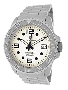 Le Chateau Men's 7083mssmet_wht Sport Dinamica Automatic See-Thru Watch
