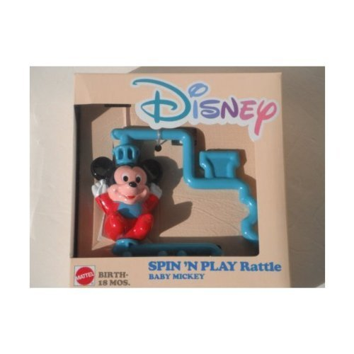 DISNEY SPIN'N PLAY Rattle BABY MICKEY - 1