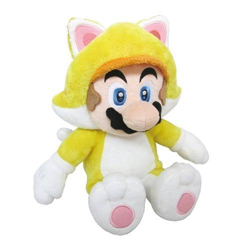 "Super Mario Cat Mario 12"" Plush"